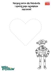 KOLOROWANKA 06 Serce Robobota