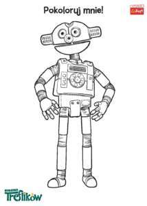 KOLOROWANKA 09 Robobot