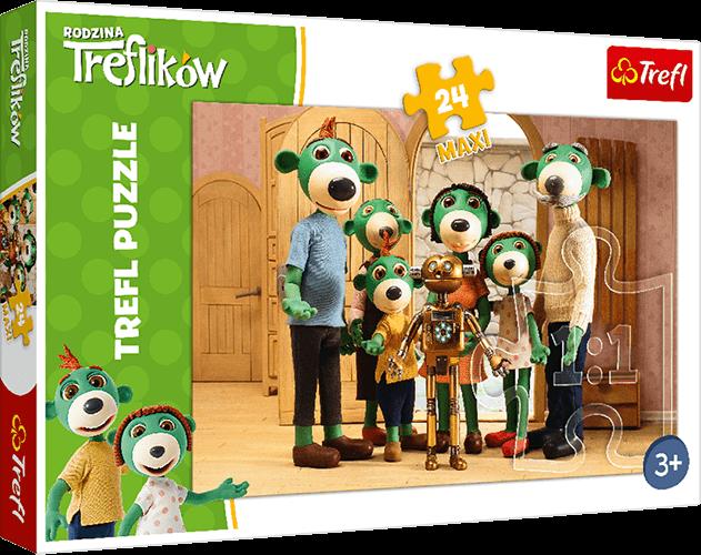 Nagroda gwarantowana wkonkursie Puzzle Maxi Rodzina Treflików