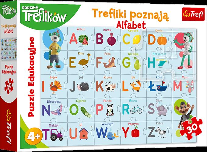 Nagroda gwarantowana wkonkursie Trefliki poznają Alfabet