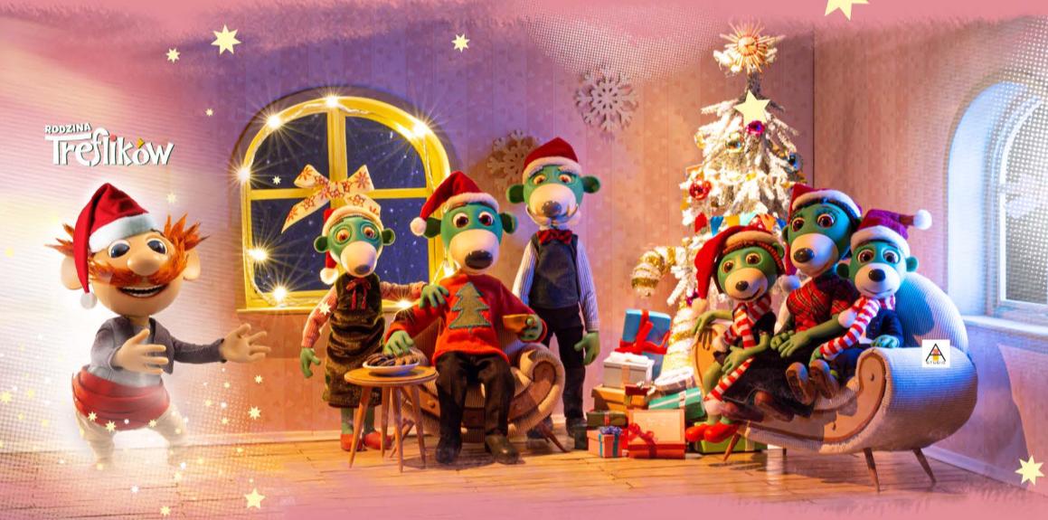 Rodzina Treflików Wesołych Świąt
